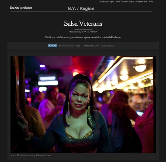 New York Times | Salsa Veterans | April 28, 2013