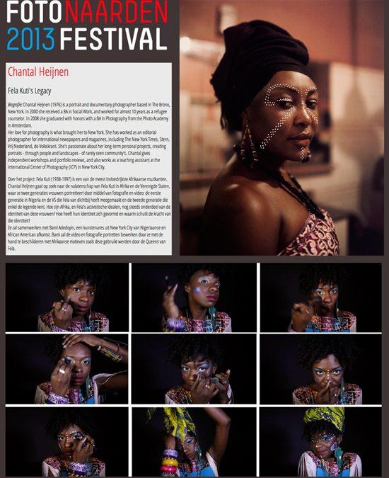 Launch 'Fela Kuti's Legacy | @ Naarden Photo Festival | May 2013